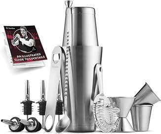 14pc Stainless Steel Cocktail Shaker Set