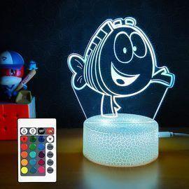 Mr. Grouper Night Light