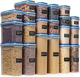 Shazo Food Storage Container Set, 40pc
