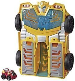 14 Transformers Playskool Heroes Rescue Bots Academy Bumblebee Track Tower Playset