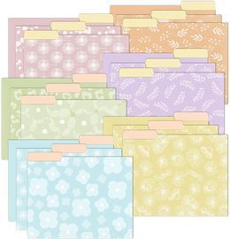 18 Pack File Folders