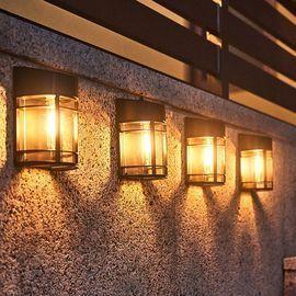 4pk Solar Wall Lights
