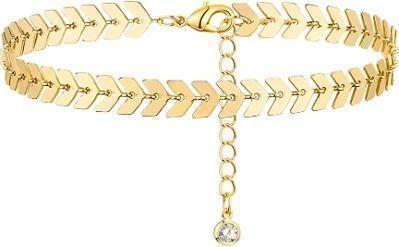 Gold Anklet