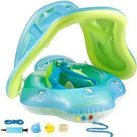Baby Swimming Float with Canopy