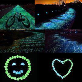 10 Pcs Decorative Glow in The Dark Stones