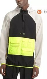 Puma Men's First Mile Water-Repellent Colorblocked Training Jacket