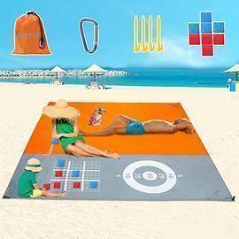 AugToy Lightweight Sandproof Beach Blanket