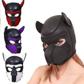 Cosplay Puppy Mask
