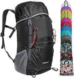 G4Free Foldable 35L Travel Daypack (Black)