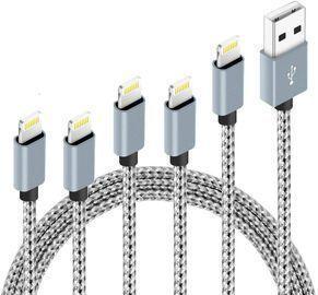 5Pack Nylon Braided Charging Cords