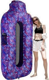 Inflatable Lounger with Pillow