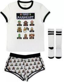 Mario Kart 3pc Pajama Set