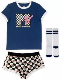 MTV 3pc Pajama Set