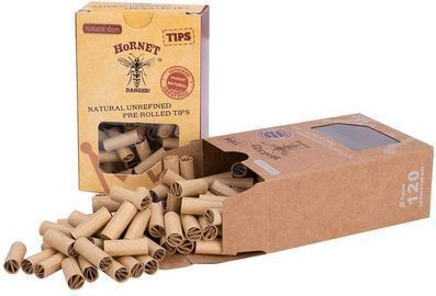 Unbleached Raw Tips Cigarette Joint Filters