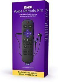 Roku Voice Remote Pro w/ TV Controls