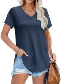 Loose Fit Summer Tops