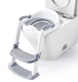 Toilet Seat with Step Stool