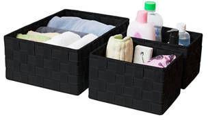 Farberware 3 Strap Storage Baskets
