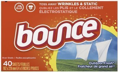 Bounce 40 Count Fabric Softener Sheets