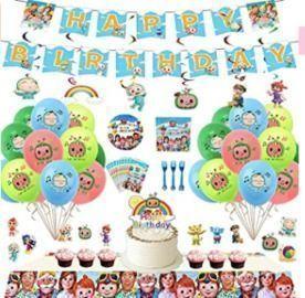 Cocomelon Birthday Party Supplies