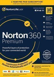 Norton 360 Premium 2021 for 10 Devices