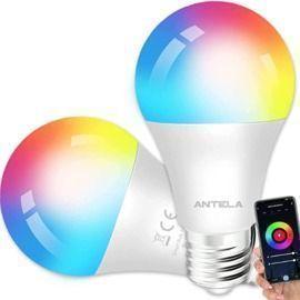 WiFi Smart Light Bulb - 2 Pack