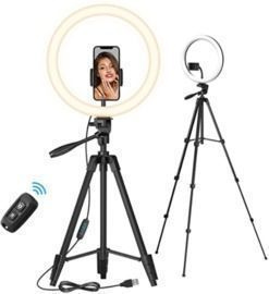 12 Large Selfie Ring Light with Stand