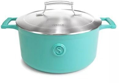 Saveur Selects Enameled Cast Iron 5-Qt. Dutch Oven w/ Stainless Lid