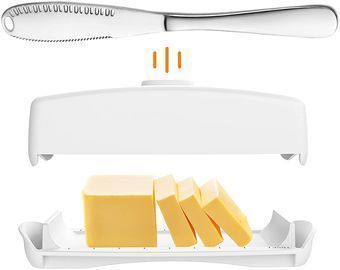 Butter Dish with Magnetic Lid