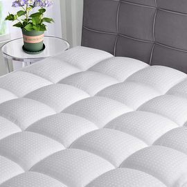 Queen Cooling Mattress Topper Pad Pillow Top with Down Alternative