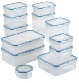 Lock n Lock 24-Pc. Food Storage Container Set