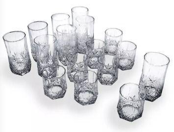 Luminarc Brighton 16pc Glassware Set