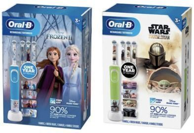 Oral-B Kids Disney Rechargeable Electric Toothbrush