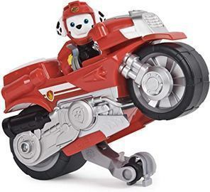 Paw Patrol Moto Pups Marshalls Deluxe Pull Back Motorcycle