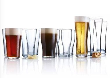 Luminarc Craft Brew Brew Master's Beer Glass 12pc Set