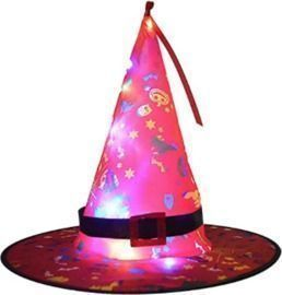 Light-Up Halloween Witch Hat