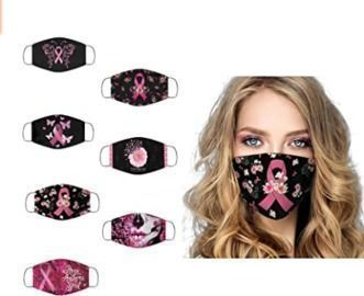 Breast Cancer Awareness Face Mask