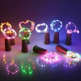 Cork Wire String LED Lights