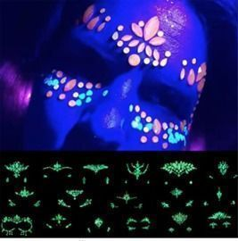 Halloween Luminous Face Gems