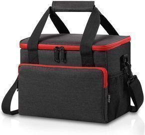 Insulated Cooler Tote with Adjustable Shoulder Strap