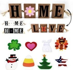 Amazon - 45% Off Interchangeable HOME Signs