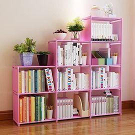 9-Cubes Storage Bookcase Organizer
