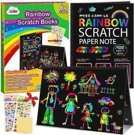 Scratch Paper Art Notebooks