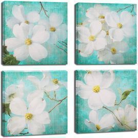 Decor Wall Art Orchid Paintings