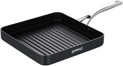 Hard-Anodized Nonstick Square Grill Pan