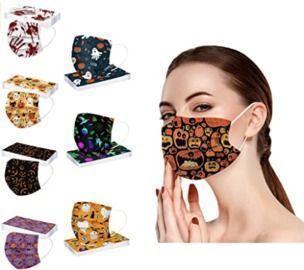Halloween Disposable Face Masks - 10pk
