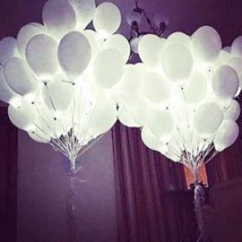 12 LED Glow Balloon - 5pk