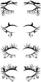 Halloween Eye Shadow Stickers - 4pk