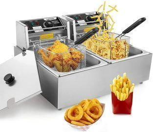 Commercial Deep Fryer with 2 Baskets