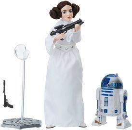 Star Wars Forces of Destiny Princess Leia Organa Platinum Edition Figure